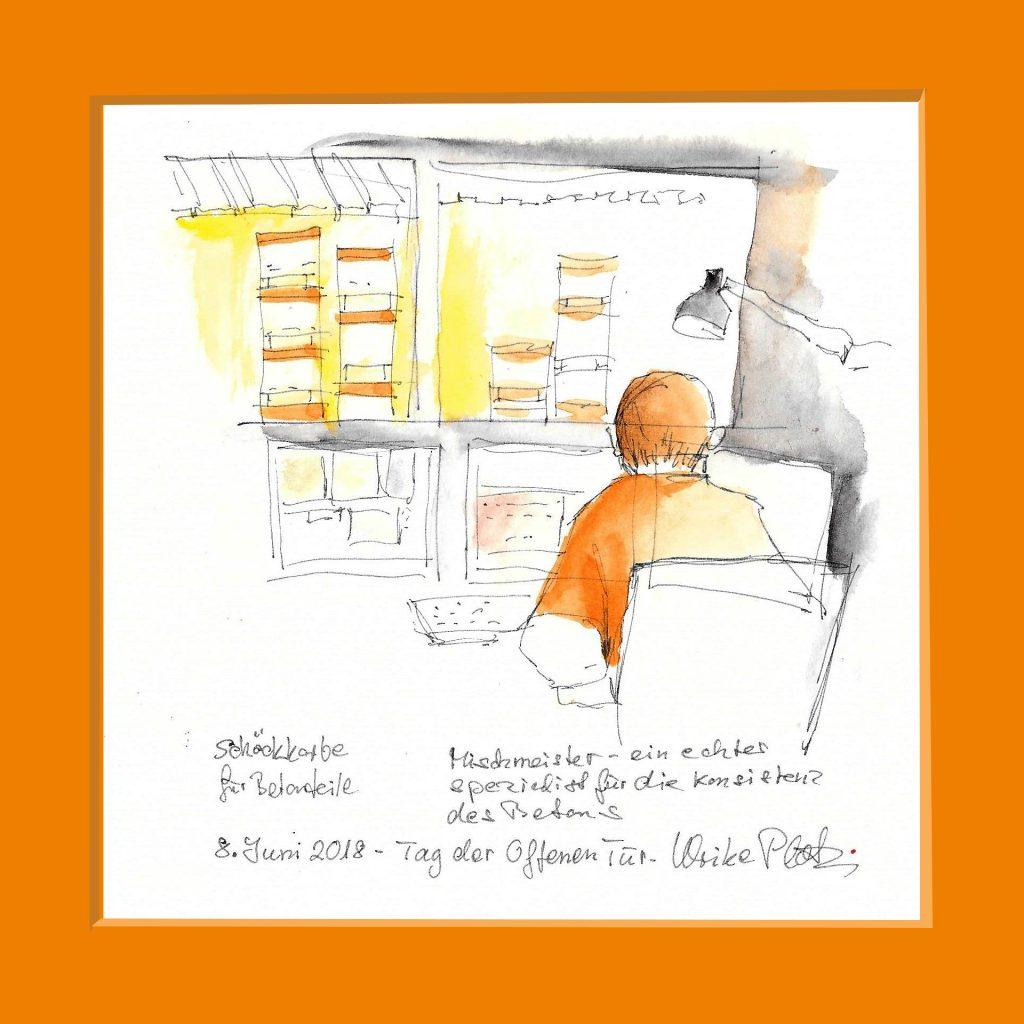 Urban Sketching Labor Firma Schütt