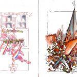 Urban Sketching Atmosphäre