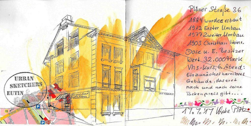 Urban Sketching Perspektive