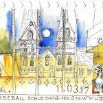 Urban Sketching Presseball Lübeck