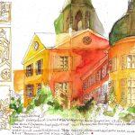 Urban Sketching Schloss Eutin