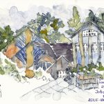 Urban Sketching Eutin Jobcenter