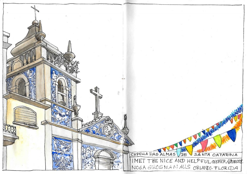 Porto Urban Sketching Capella