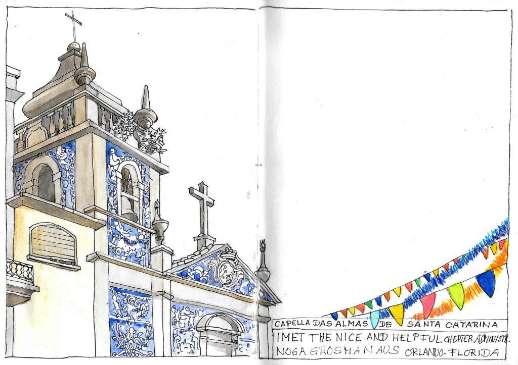 Porto Urban Sketching Capella