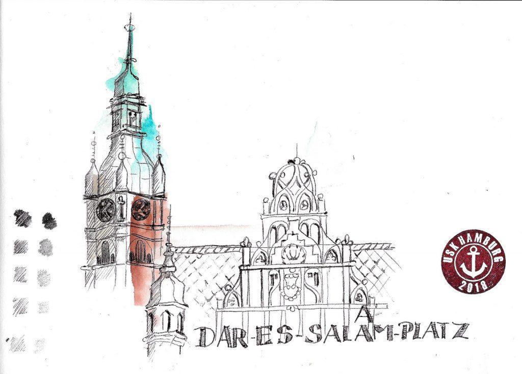 Urban Sketchers Hamburg Deutschlandtreffen 2018