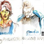 Urban Sketchers Hamburg 2ß18