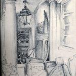 Urban Sketching Eutiner Schloss