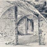 Urban Sketching Gewölbe Schloss