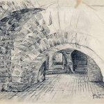 Skizze im Eutiner Schloss