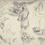 Urban Sketching Gesichter und Hände