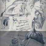 Skizzen Urban Sketching Schloss