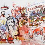 Urban Sketching Feier dokumentieren