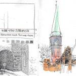 Urban Sketching - Licht und Schatten