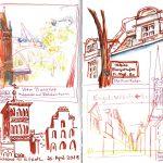 Urban Sketching - Architektur und Perspektive