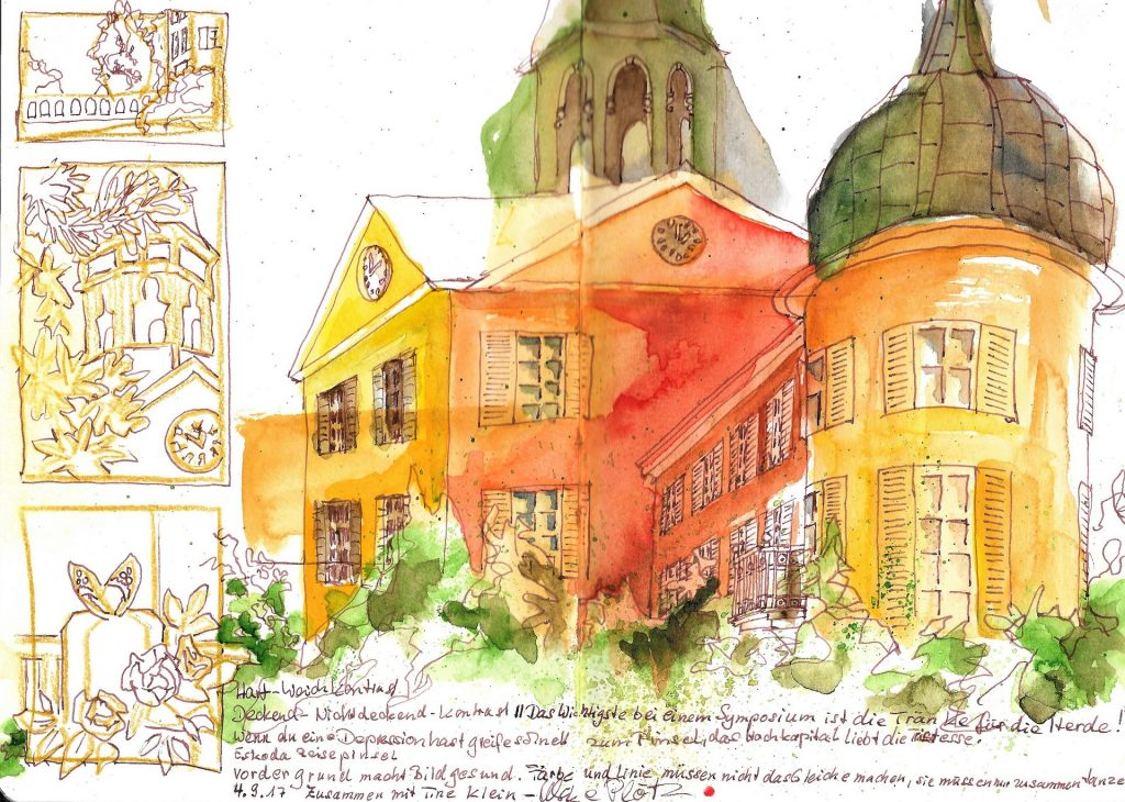 Urban Sketchers Eutin - Schloss Eutin