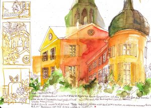 Schloss Eutin - Mixed Media